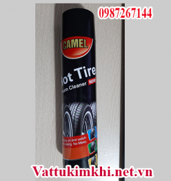Chai xịt bảo vệ lốp xe Hot Tire.